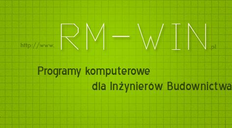 ..:: RM-WIN ::.. Programy komputerowe dla inżynierów budownictwa